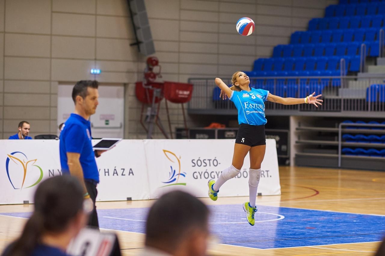 Női röplabda Extraliga - a Vasas legyőzte a Nyíregyházát