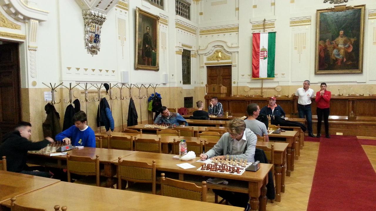 Rangadó a sakkozóknál - a Sportcentrum legyőzte az Egyetem gárdáját