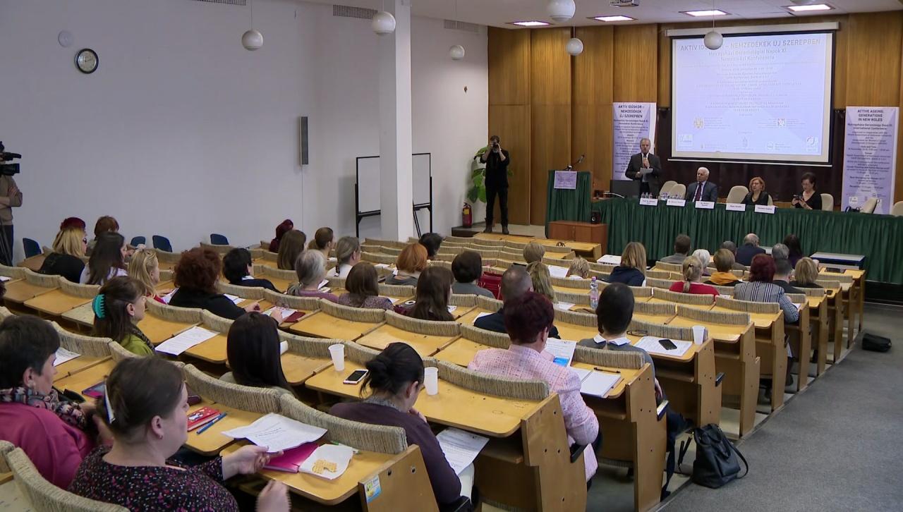 Nemzetközi konferencia városunkban – Aktív időskor, nemzedékek új szerepben címmel