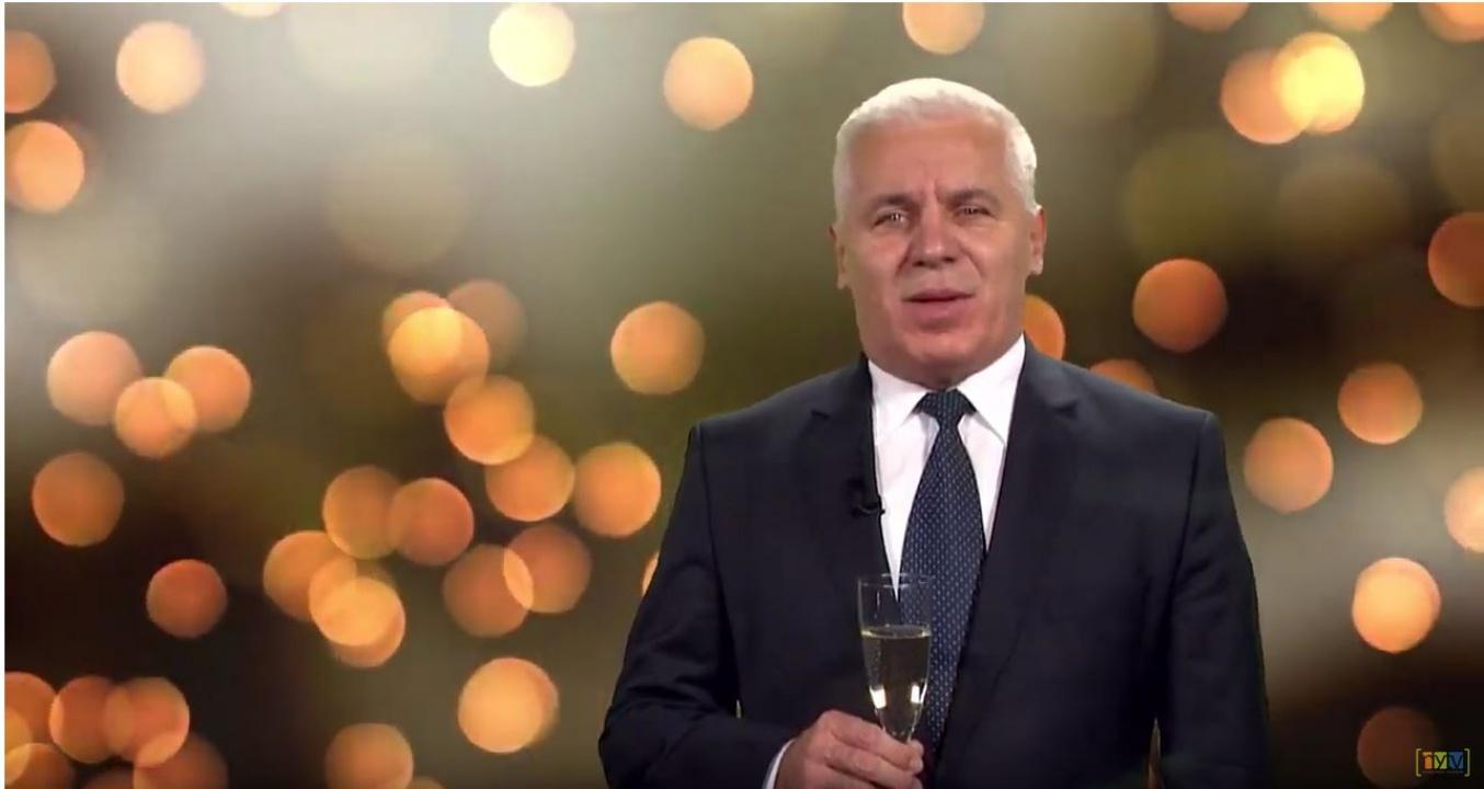 Polgármesteri újévi köszöntő a Nyíregyházi Televízióban
