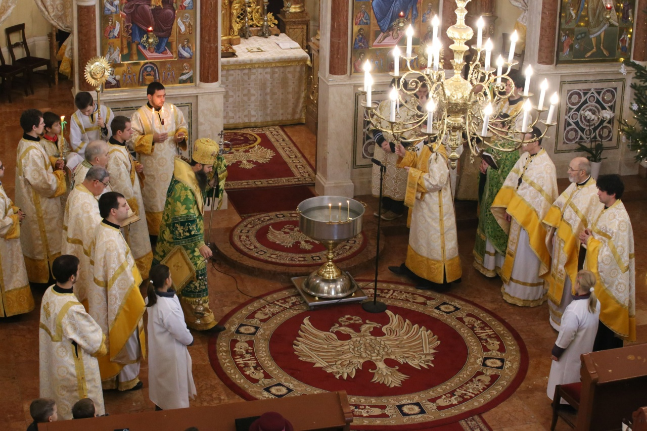 Vízszentelés görögkatolikus módra