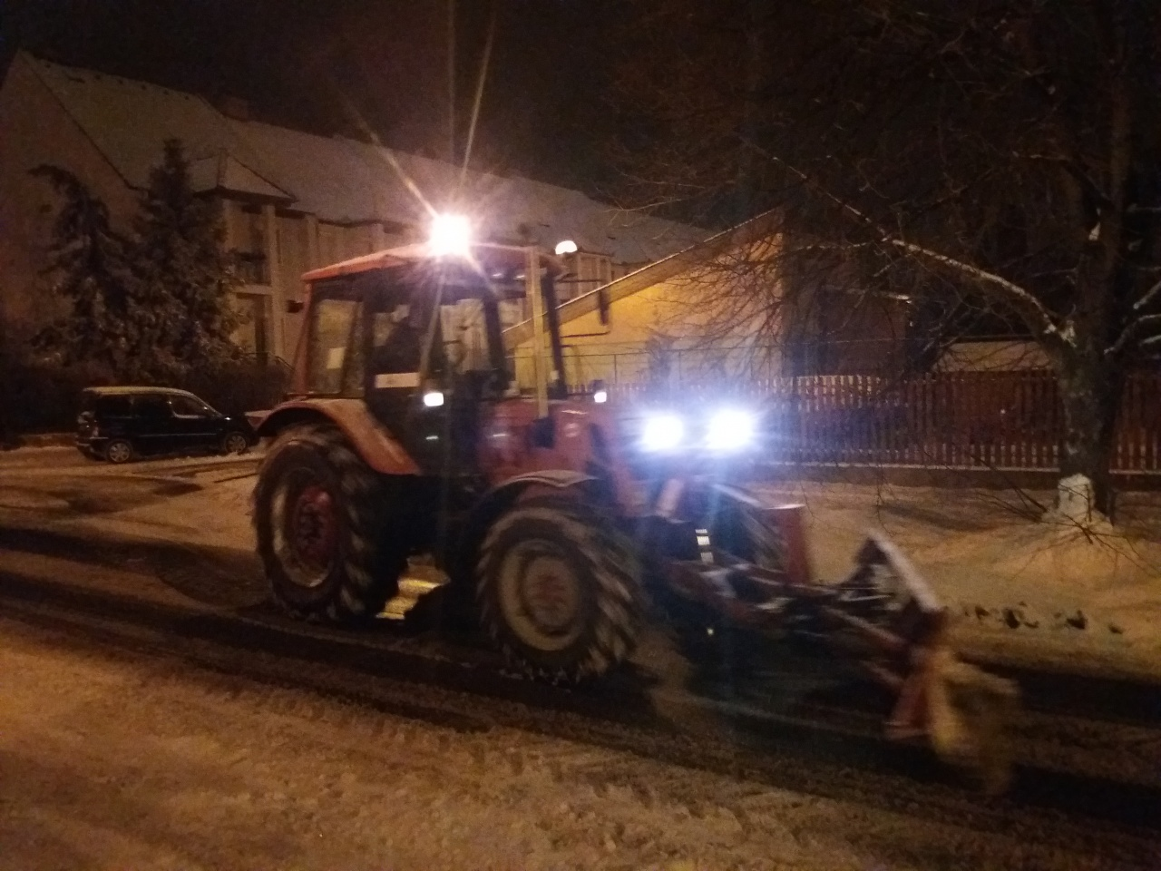 Olvasói fotók a nyíregyházi hóhelyzetről – Már a mellékutakon is járnak a hótolók