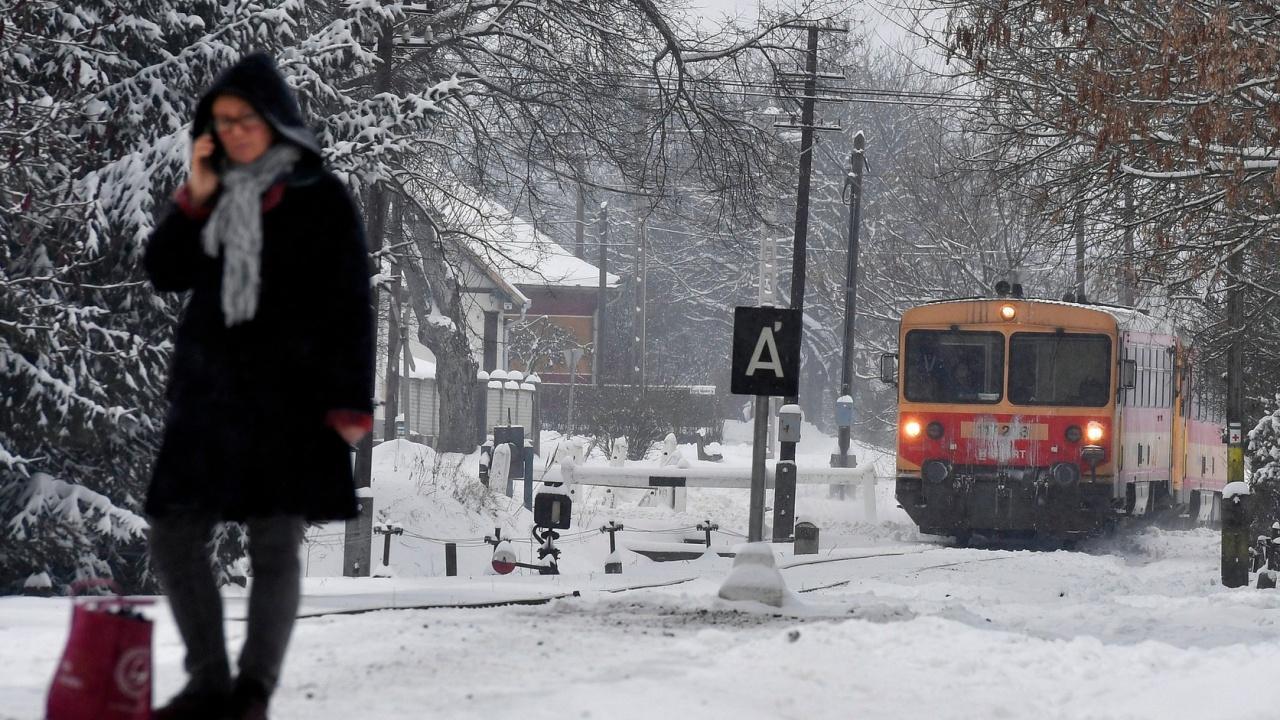 Extrém hideg, hófúvás, széllökések – Ma sem ússzuk meg