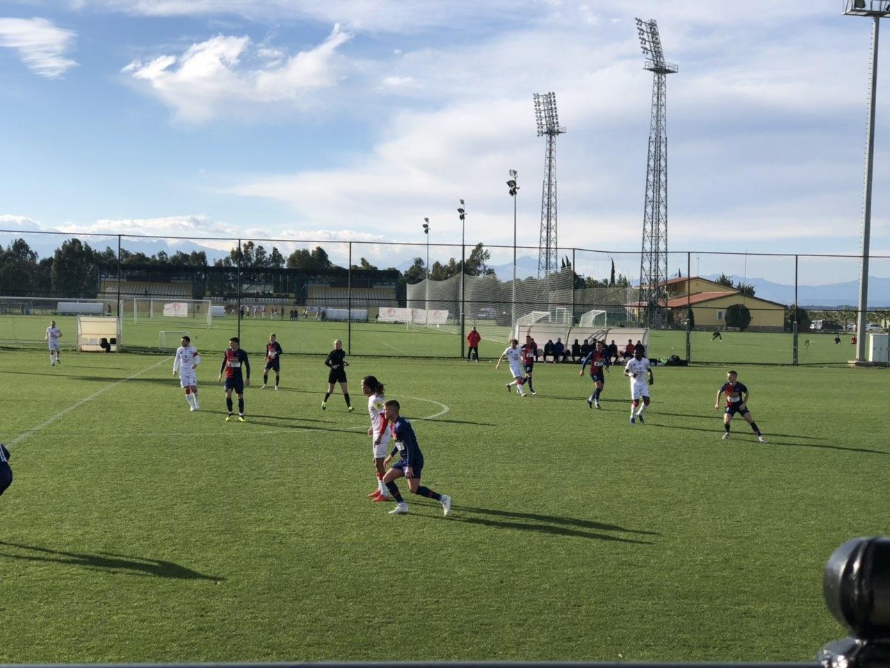 Edzőmeccs Törökországban - román első ligás csapattal játszott a Szpari