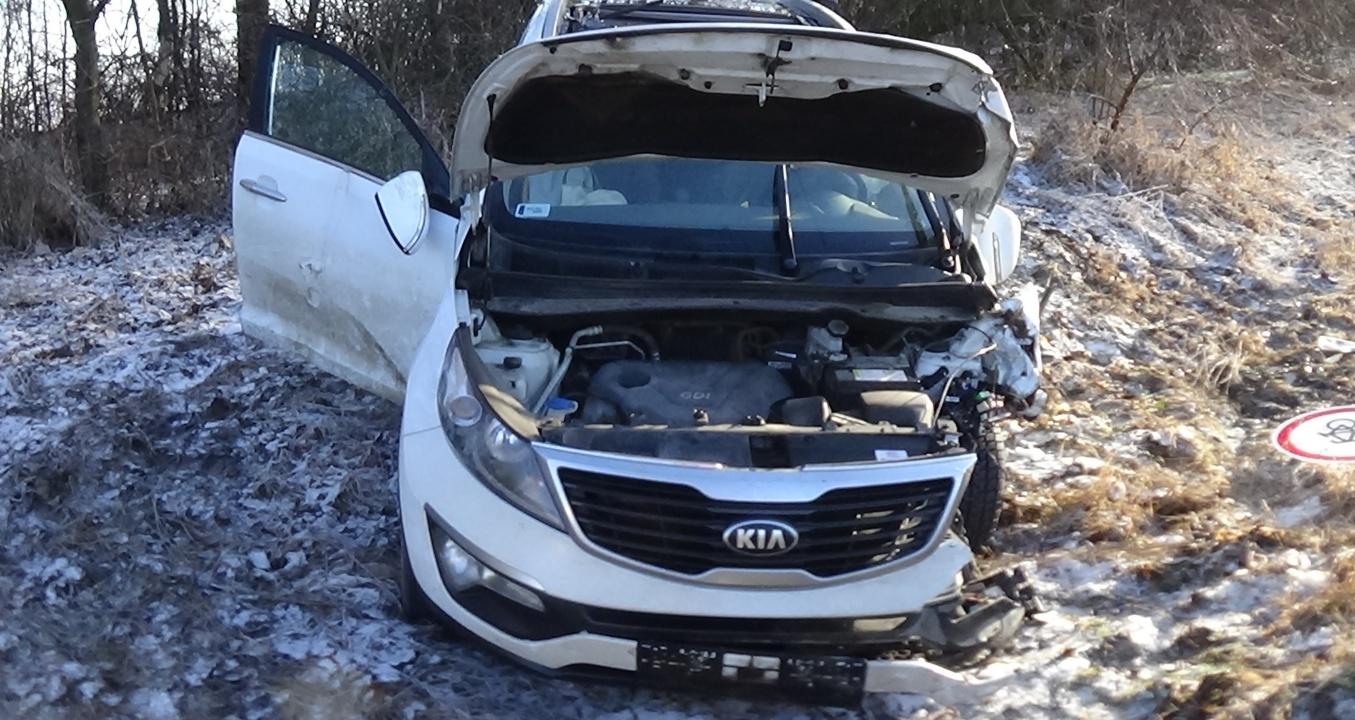 Milliós az anyagi kár a Nyírtelek belterületén történt balesetben – Senki sem sérült meg