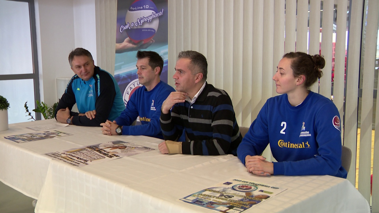 Nemzetközi meccs előtt a röplabdások - a CEV Kupa visszavágója következik