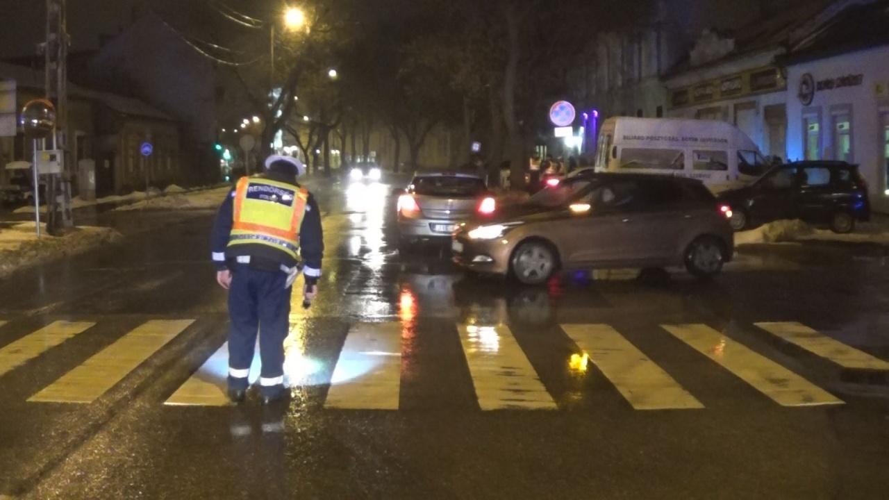 Gyalogos gázolás a Bethlen Gábor és a Szabolcs utca kereszteződésében
