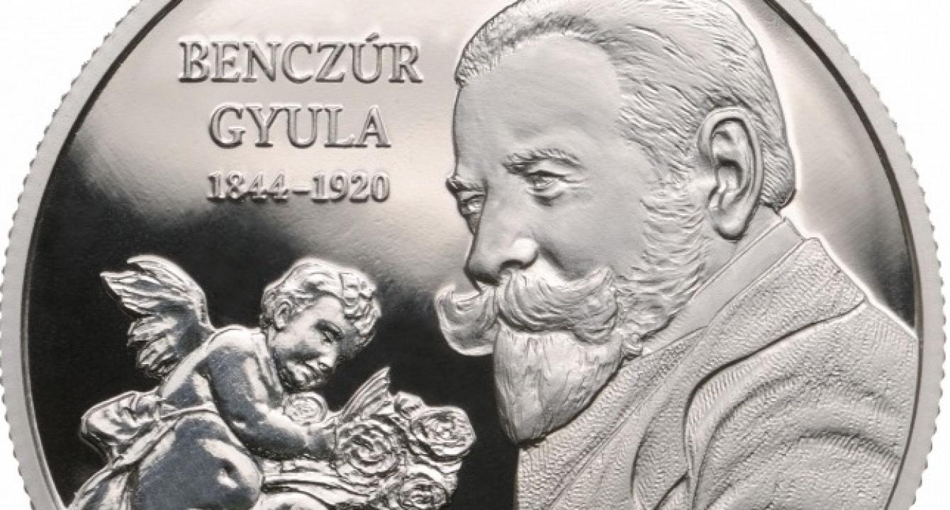 Itt van az új 10 ezer forintos érme, Nyíregyháza szülötte, Benczúr Gyula emlékére