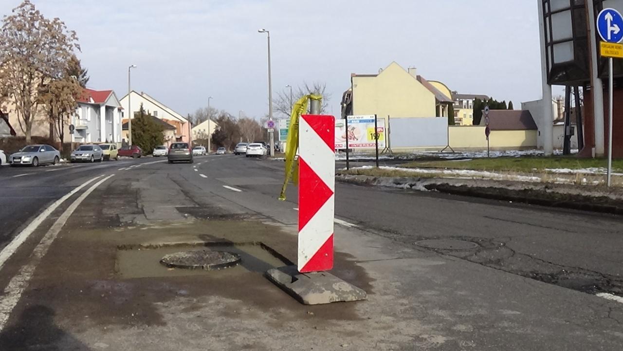 Forgalomkorlátozás – A város több pontján is közmű-helyreállítási munkálatokat végeznek