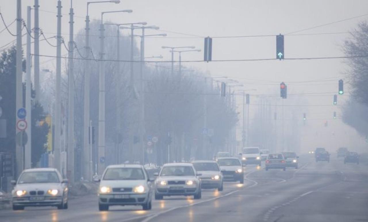 Egyes településeken, többek között Nyíregyházán továbbra is magas a légszennyezettség