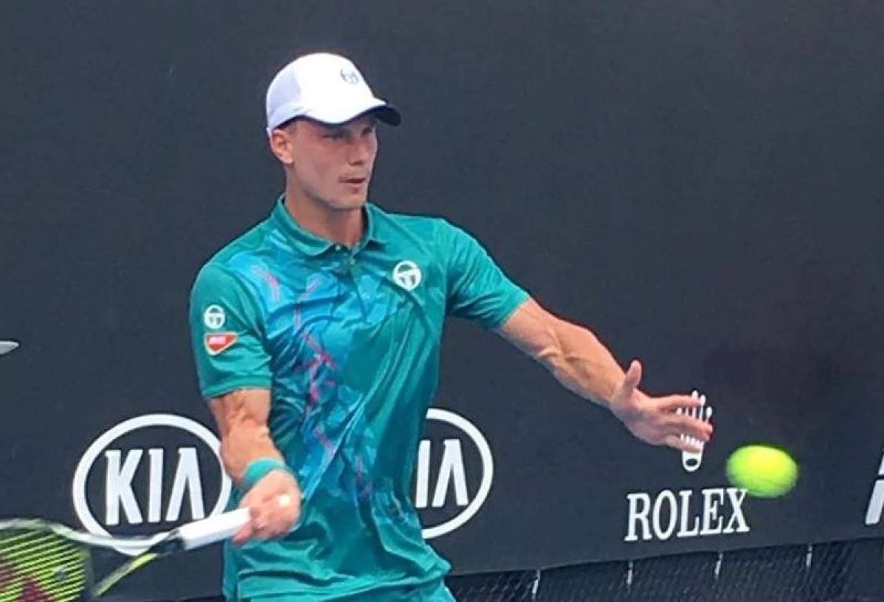 Fucsovics Márton a nyolc között - legyőzte német ellenfelét a nyíregyházi teniszező
