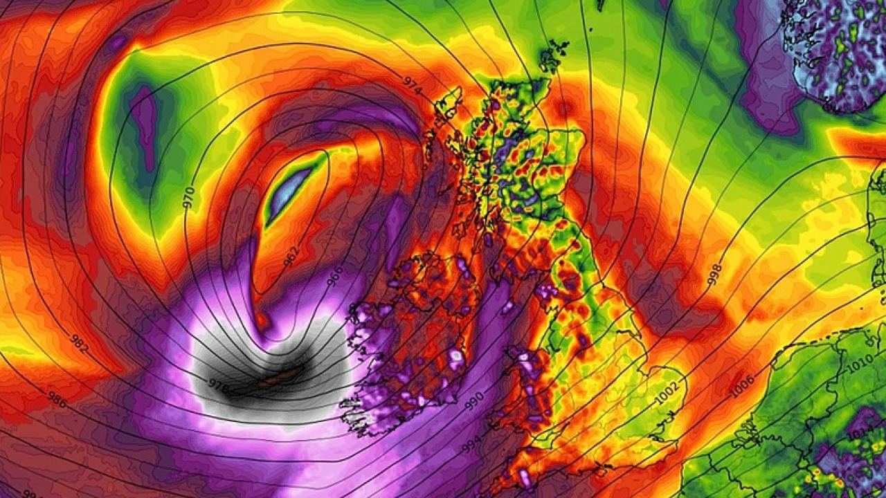 Akkora vihar érte el Európát, hogy már nevet is adtak neki