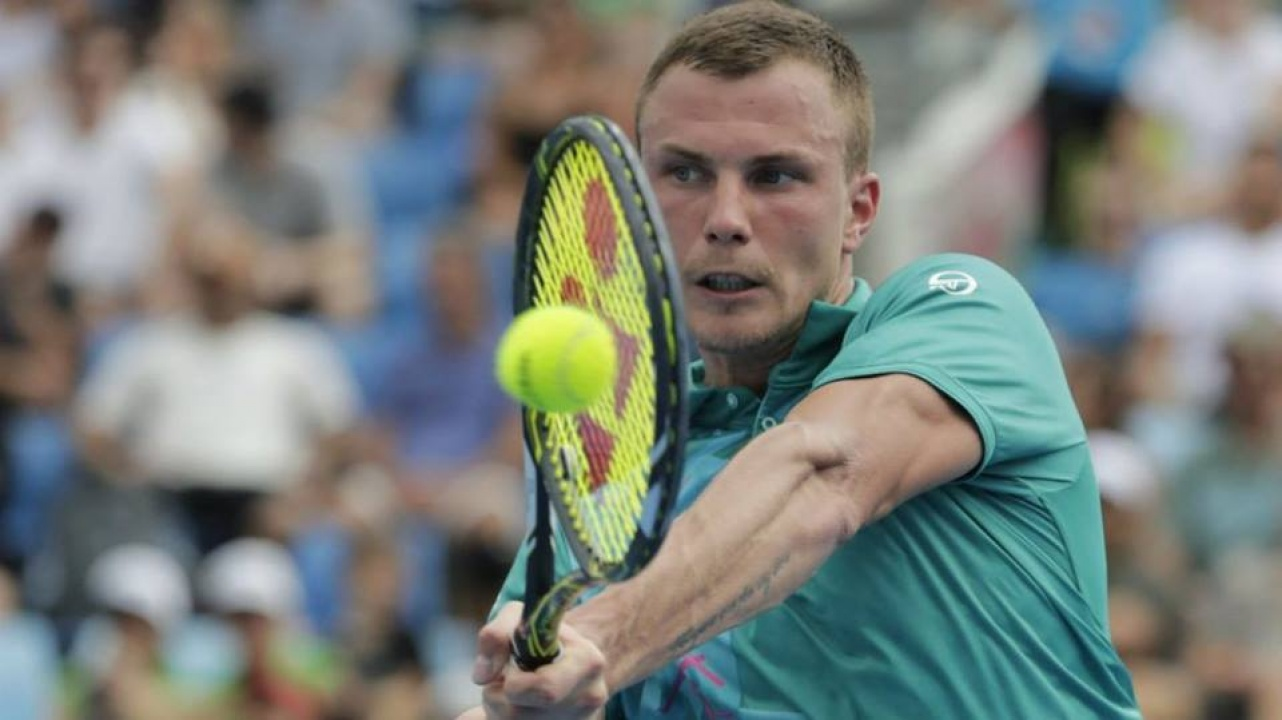 Fucsovics döntő Szófiában - az orosz Medvedev ellen játszott a nyíregyházi teniszező