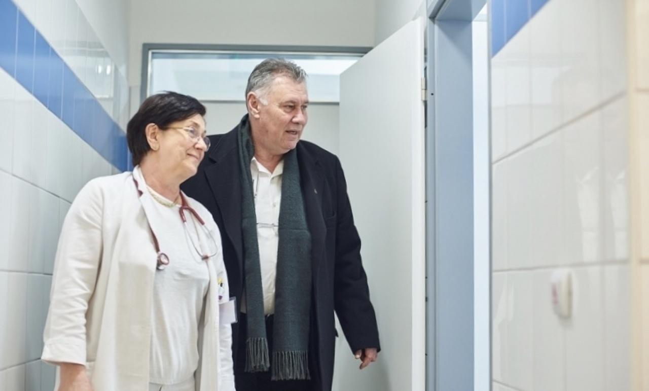 Négy ütemben újítják fel a Sóstói úti kórház Pulmonológiai Osztályát
