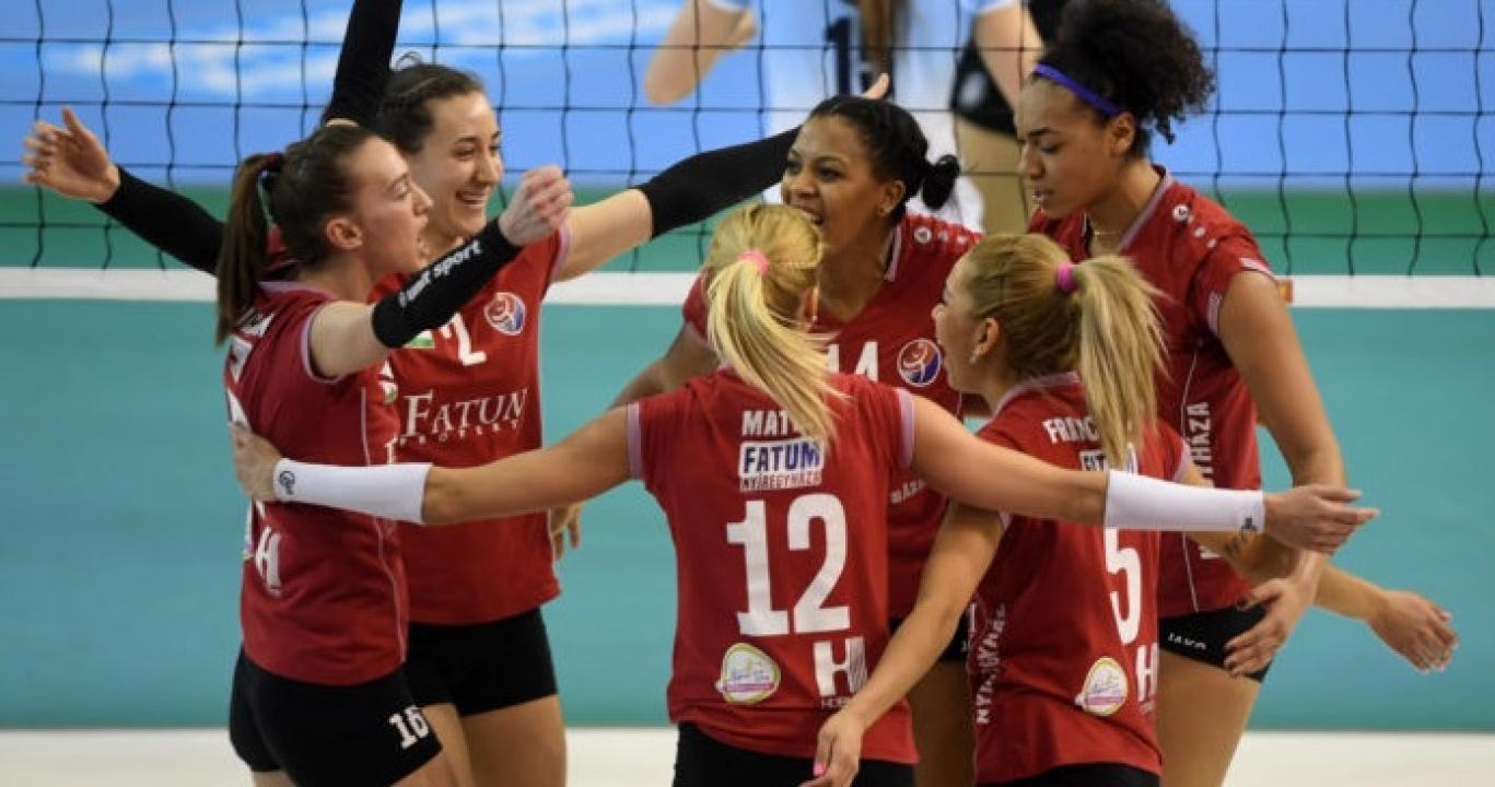 A nyíregyházi röplabdás lányok sikerétől hangos a hazai sajtó
