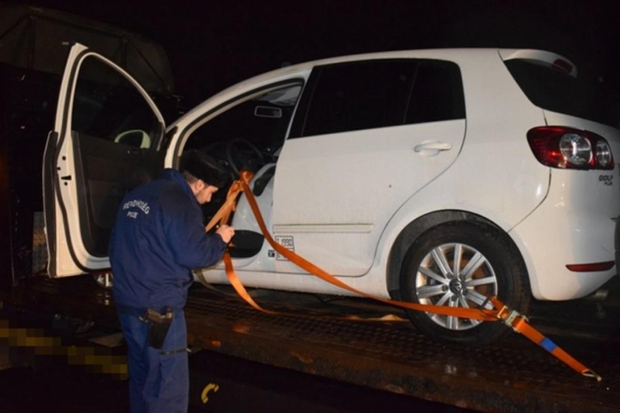 29 éves román férfi volt a sofőr – Dán hatóságok körözték a járművet
