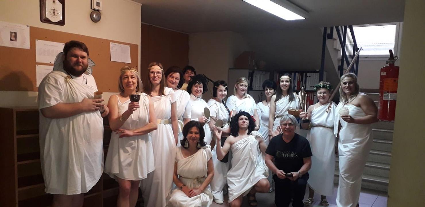 Héra, Pallasz Athéné, Artemisz - görög istenek a Kodály Iskolában!