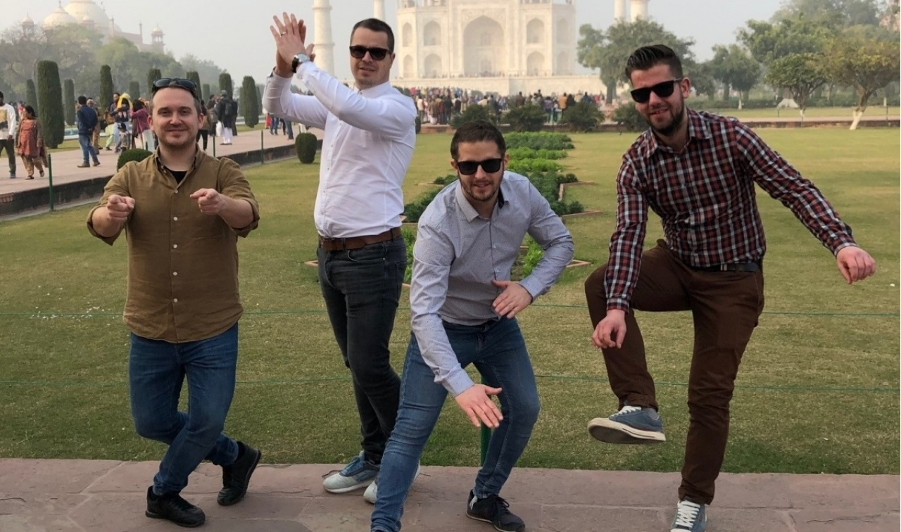 Egyhetes indiai turnéról érkezett haza a közelmúltban a 4 for Dance legénysége