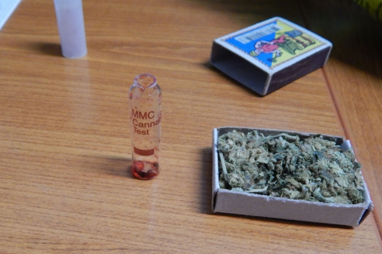 64 gramm marihuána Tiszabecsen – Ideges, türelmetlen viselkedés buktatta le a férfit