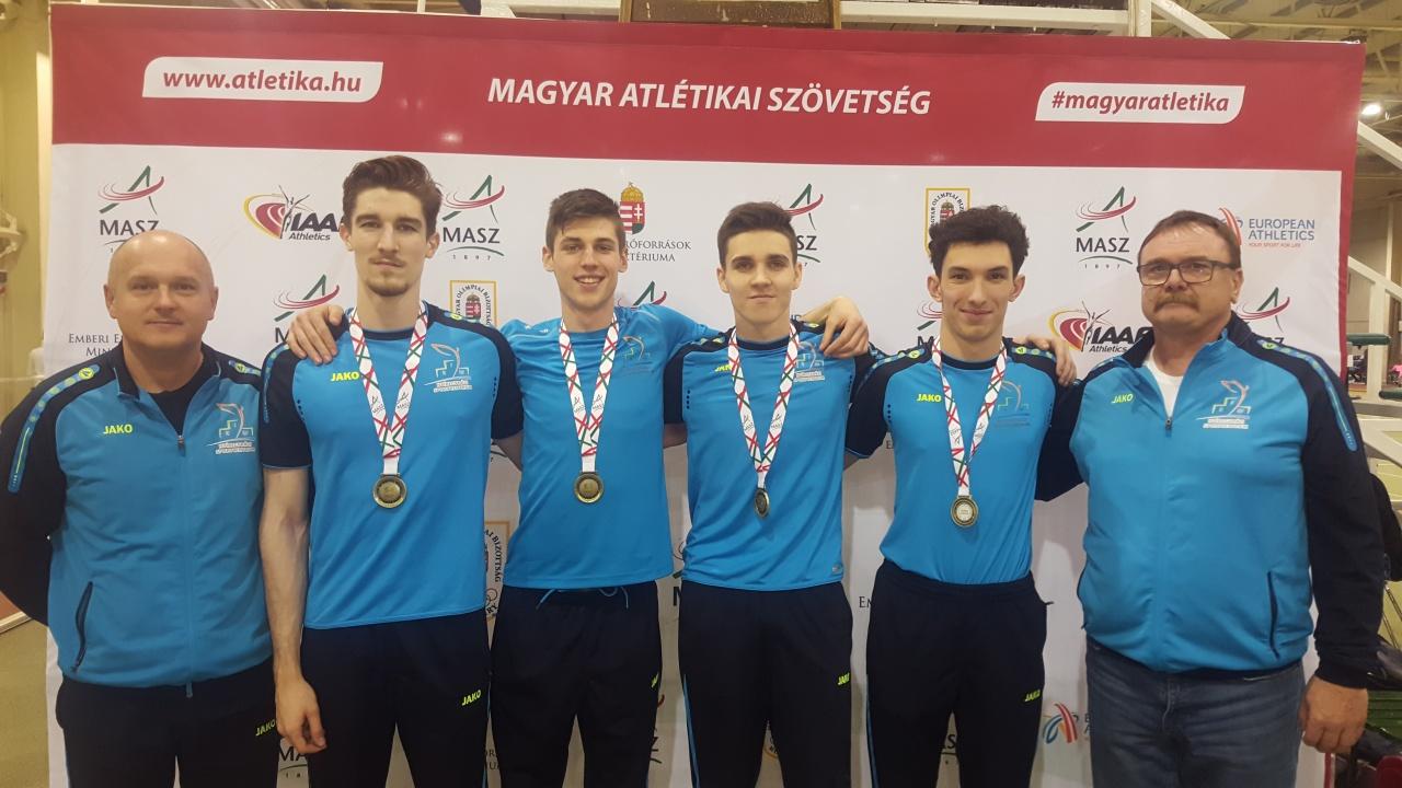 Atlétika - fedettpályás bajnokságon az ifjúságiak és a juniorok