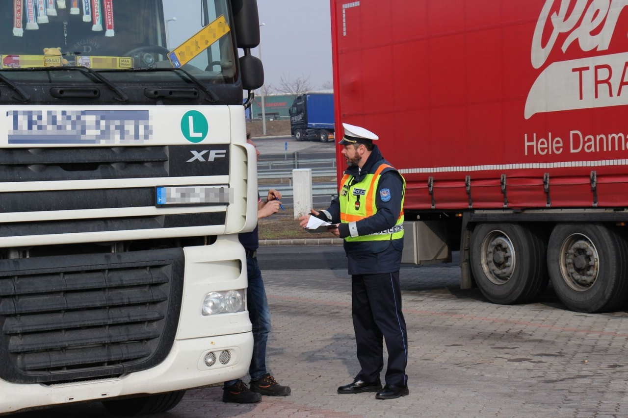 TISPOL Truck & Bus megyei eredmények – 22 esetben volt szükség intézkedésre