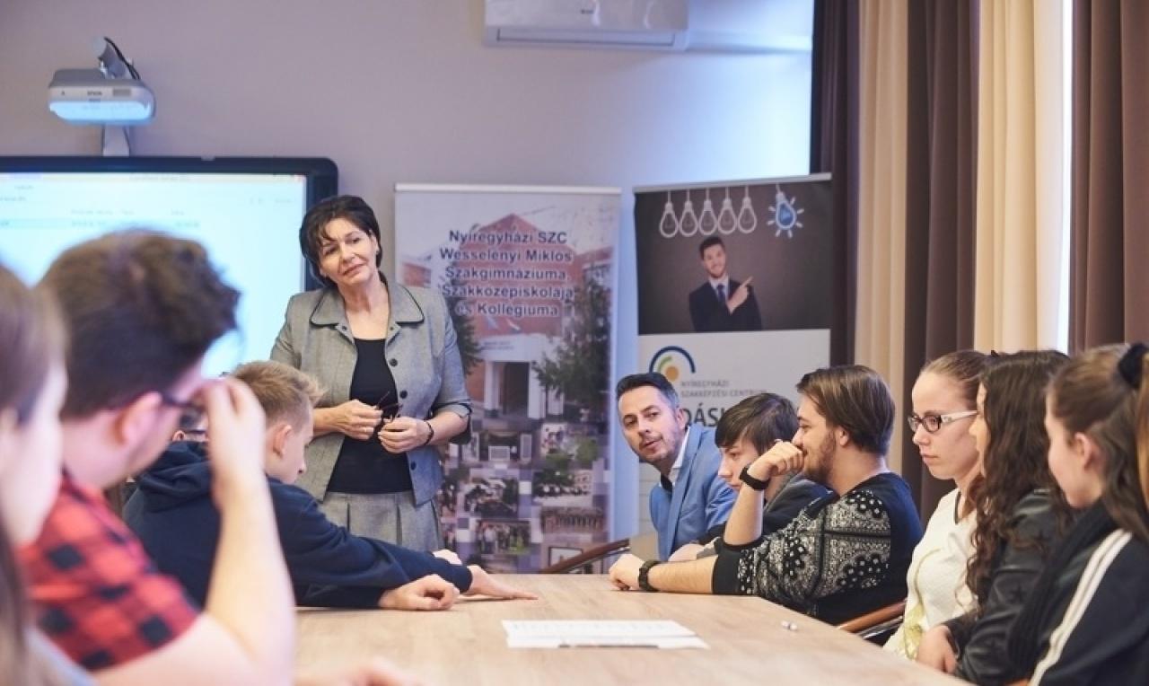 Vállalkozói Témahét – Rendkívüli tanóra a Wesselényiben