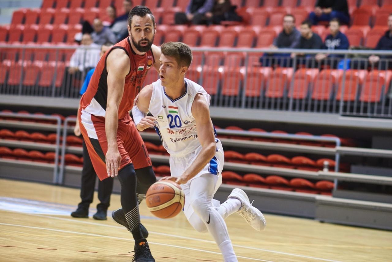 Folytatódott a sorozat - a Pécs ellen is nyertek a kosarasok