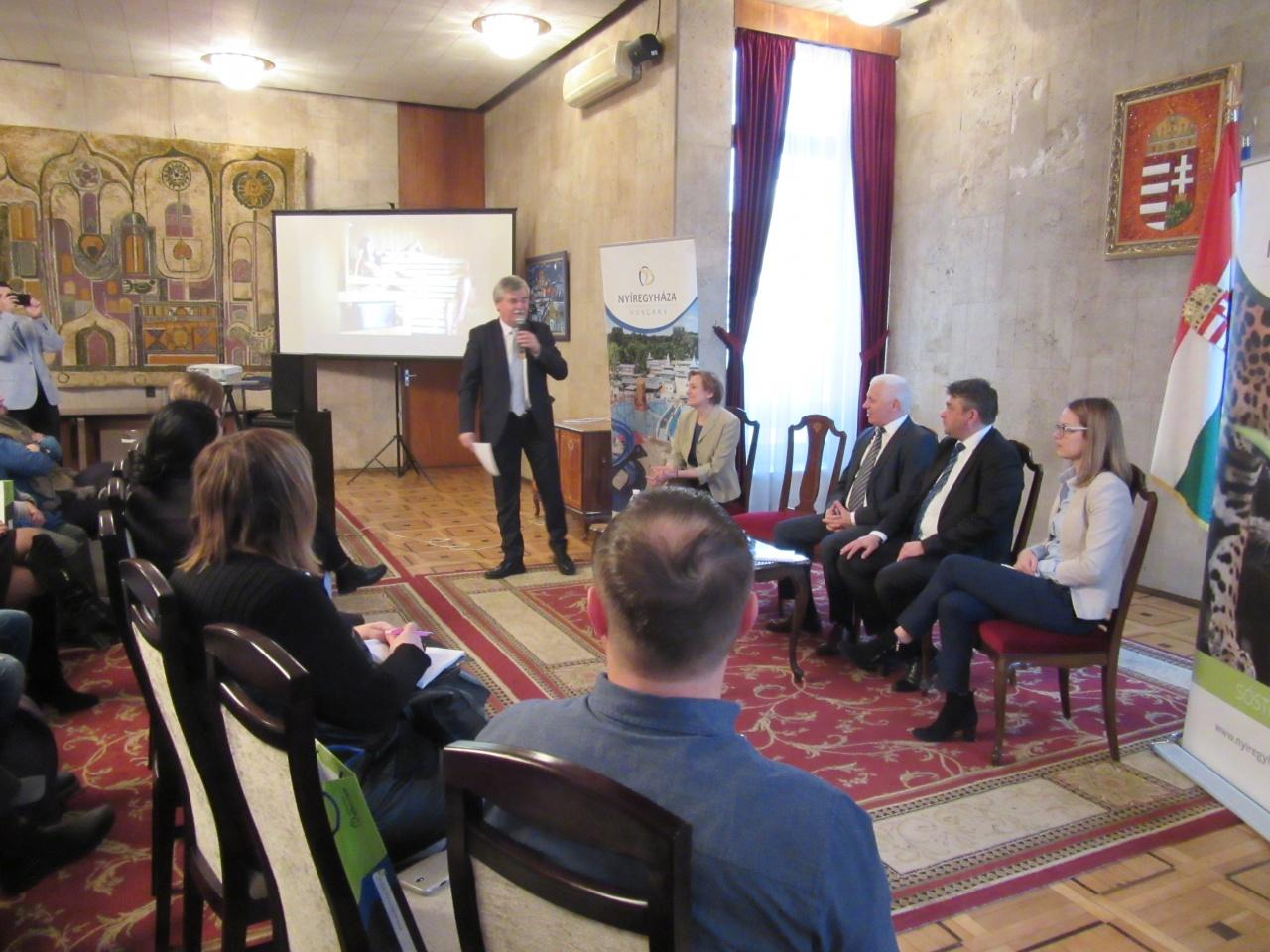 Kijevben érdeklődtek Nyíregyháza iránt