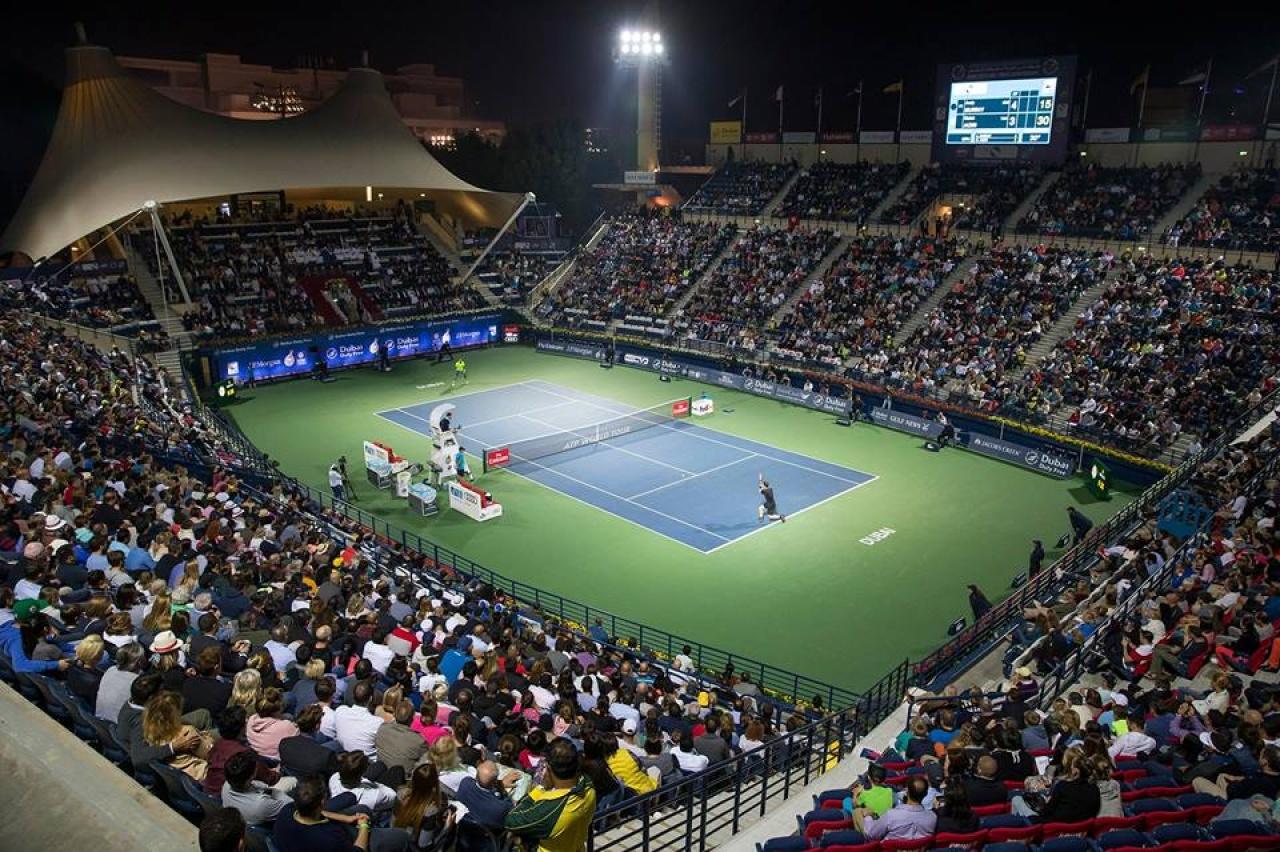 Alaposan megizzasztotta Federert Fucsovics Márton Dubaiban