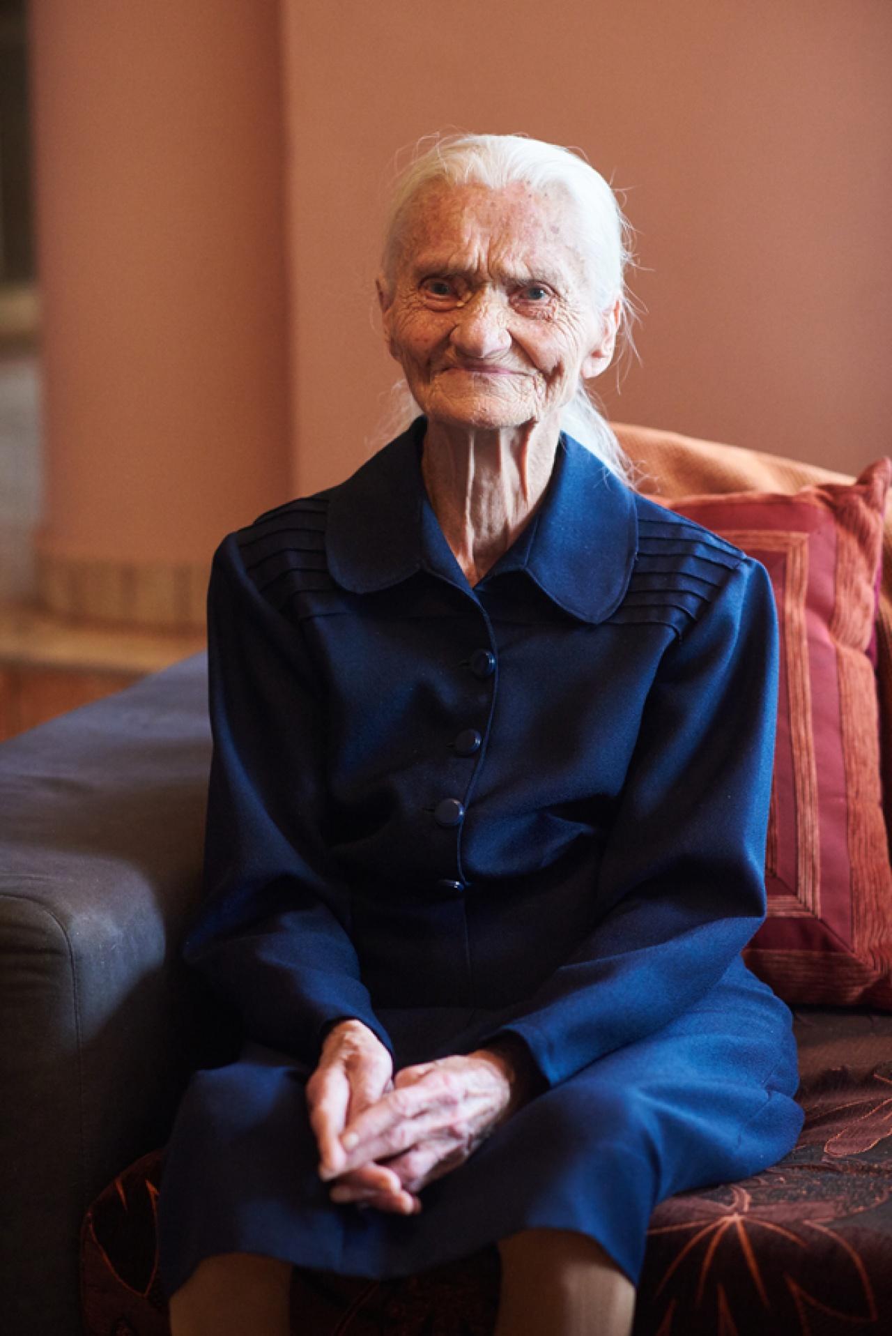 A gyűrűk ura trilógia a kedvence a 100 éves Hermina néninek