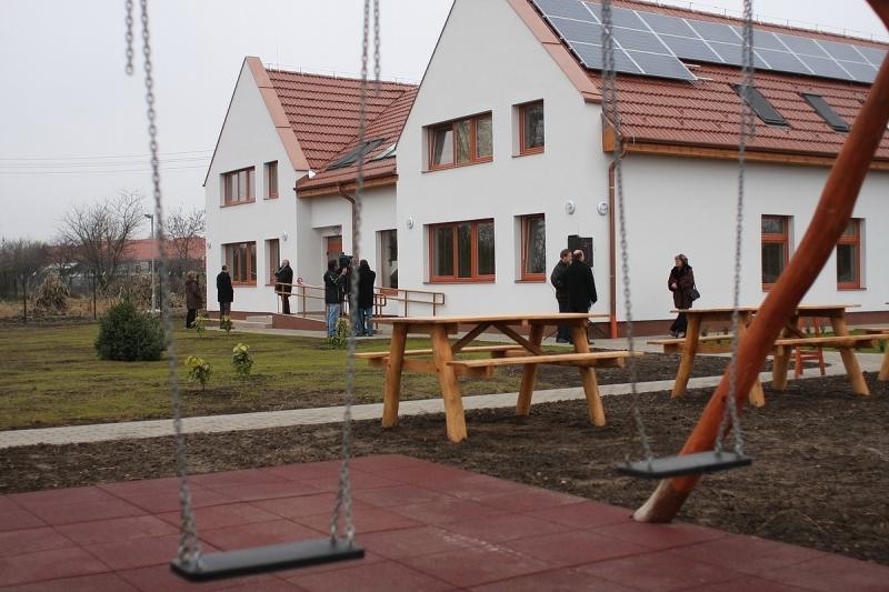 Új átmeneti otthont adtak át