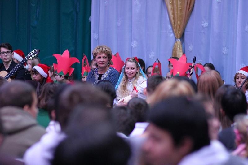 Karácsonyi ünnepség a Bárcziban