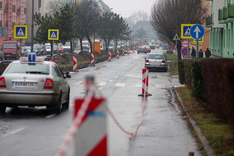 Arany János utca – megkezdődtek a munkák