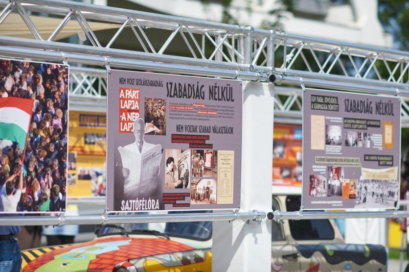 30 éve szabadon - kiállítás megnyitó