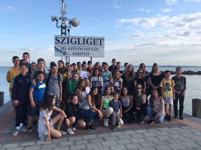 A Bem iskola diákjai Szigligeten táboroztak