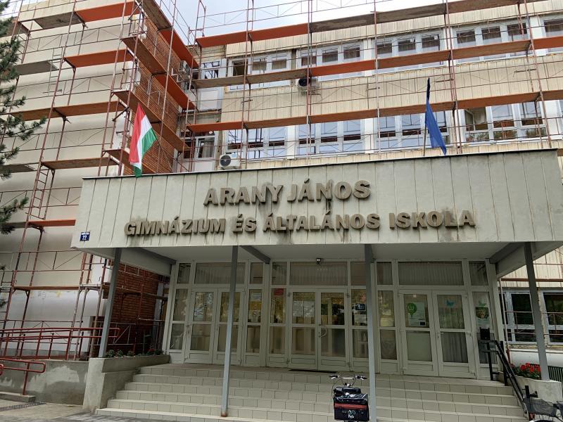 A Nyíregyházi Arany János Gimnázium, Általános Iskola és Kollégium energetikai fejlesztése