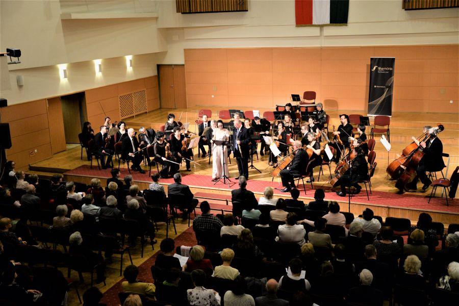 A Szabolcsi Szimfonikus Zenekar fellépése a Filharmónia Magyarország évadzáró koncertjén
