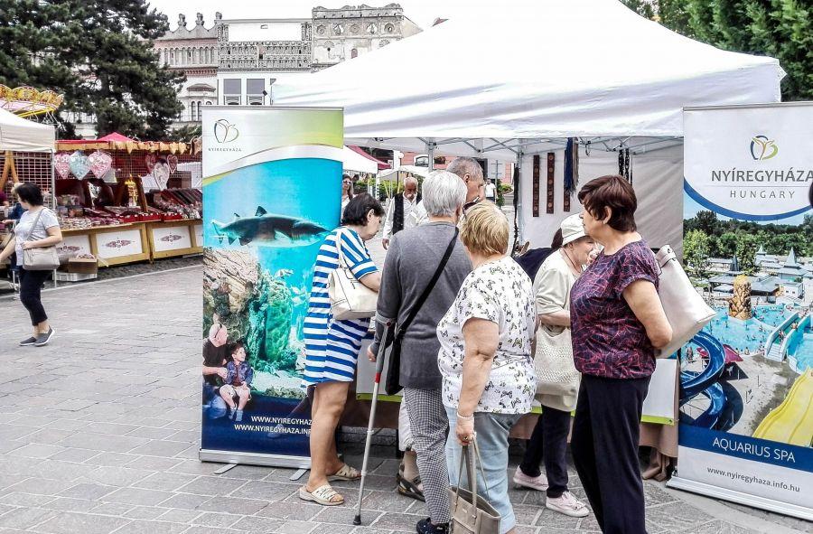 A szlovák testvérvárosban mutatkozott be Nyíregyháza