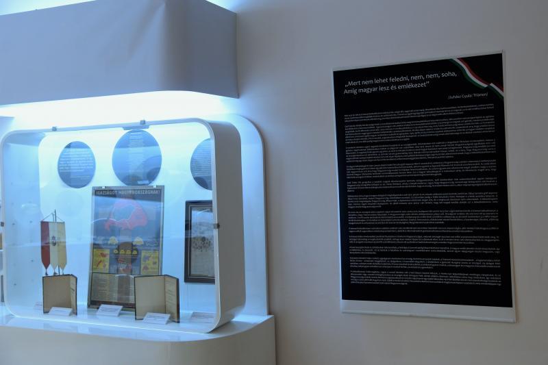 A trianoni békeszerződés Nyíregyházán - kiállítás a Jósa András Múzeumban