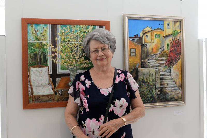Alkotó Idősek  pályázat - kiállítás megnyitó