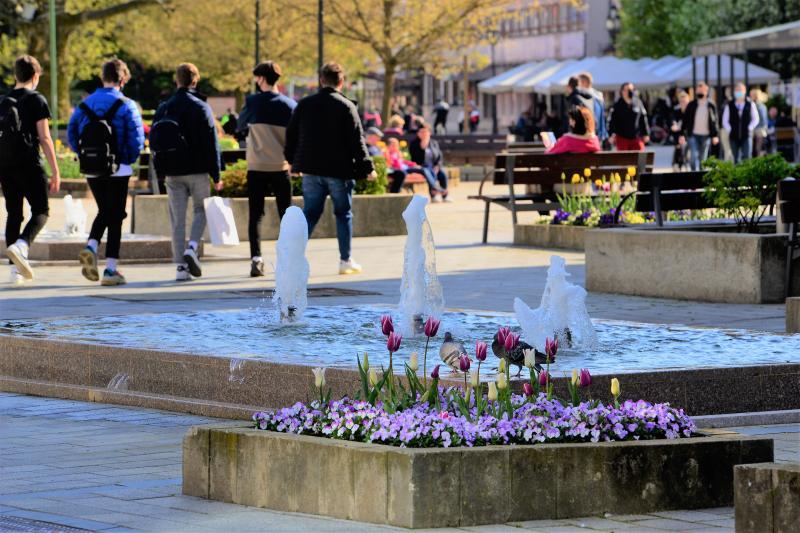 Áprilisi hétvége a belvárosban