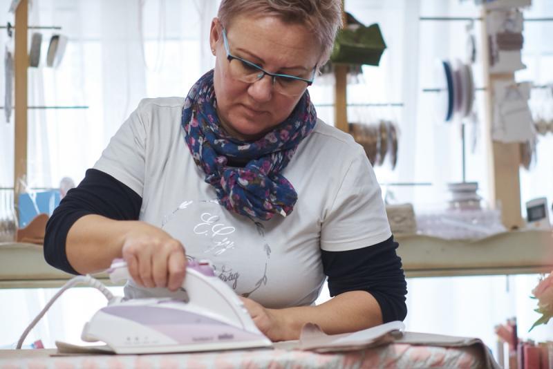 Szájmaszk készítés és felajánlás egy kézműves műhelytől