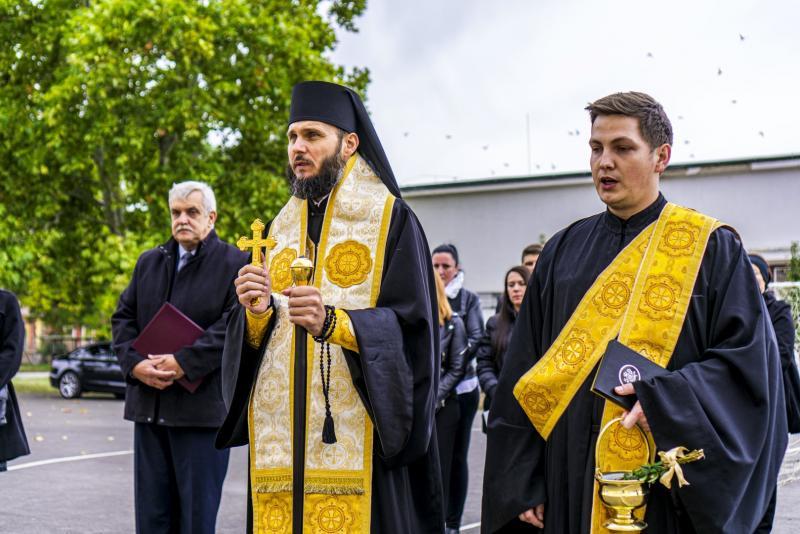 Átadták a Sója Miklós Görögkatolikus Általános Iskolát