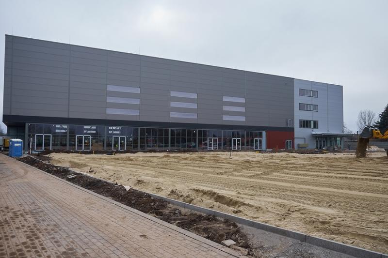 Atlétikai Centrum munkálatok 20210201