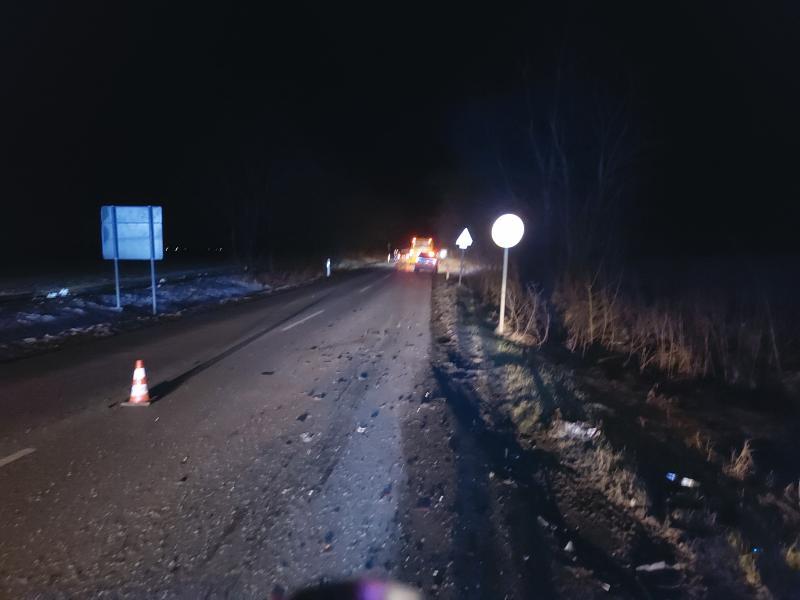 Autóbusz és személygépjármű ütközött péntek este
