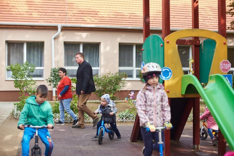 Autómentes nap a városmajori óvodában