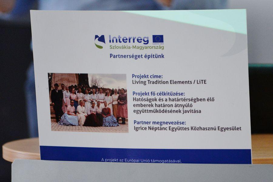 Az Igrice Néptánc Együttes sajtókonferenciája