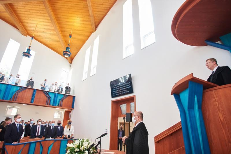 Az örökösföldi református templom szentelése