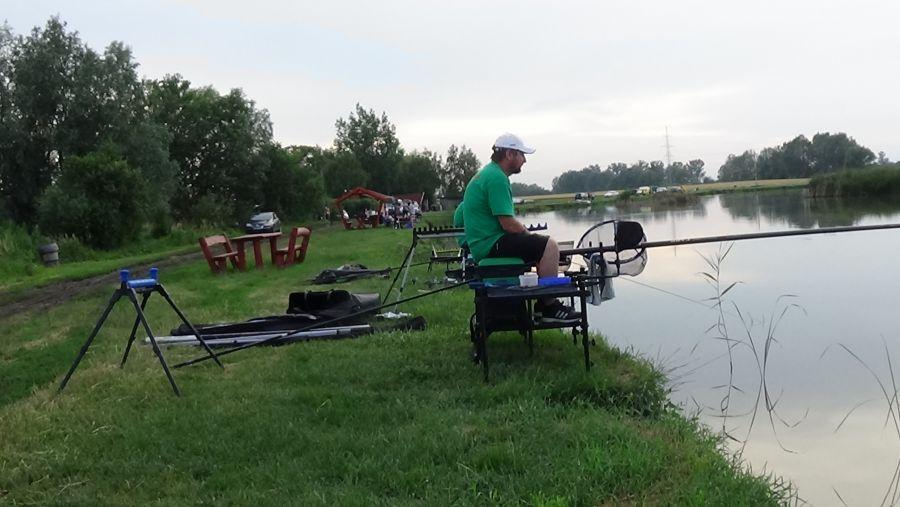 Az Országos Mentőszolgálat éves horgászversenye