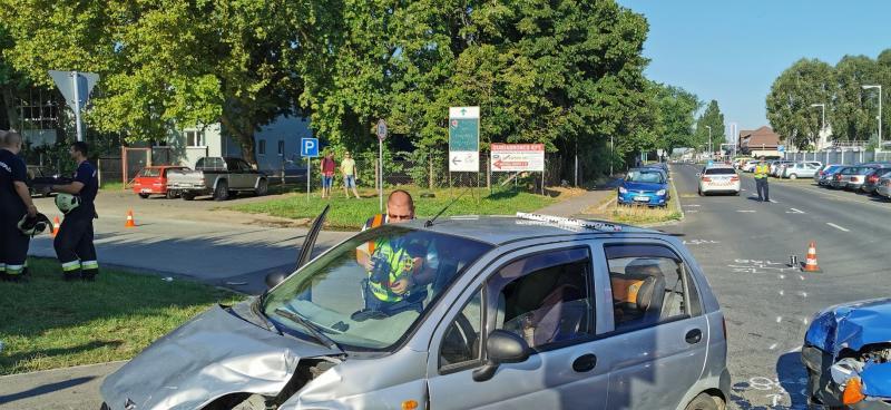 Baleset a Bokréta és a Bottyán János utca kereszteződésénél